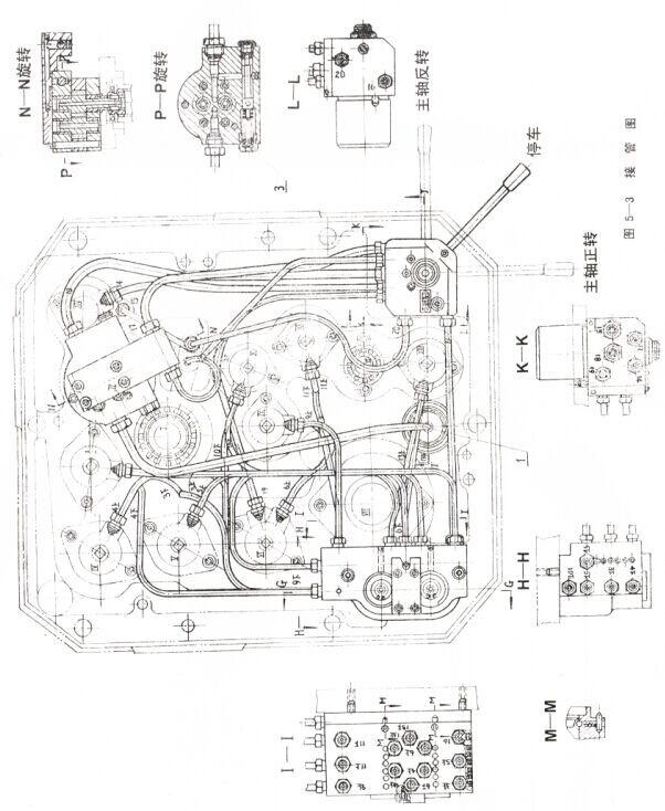 z3050摇臂钻床液压系统及其操作(上)