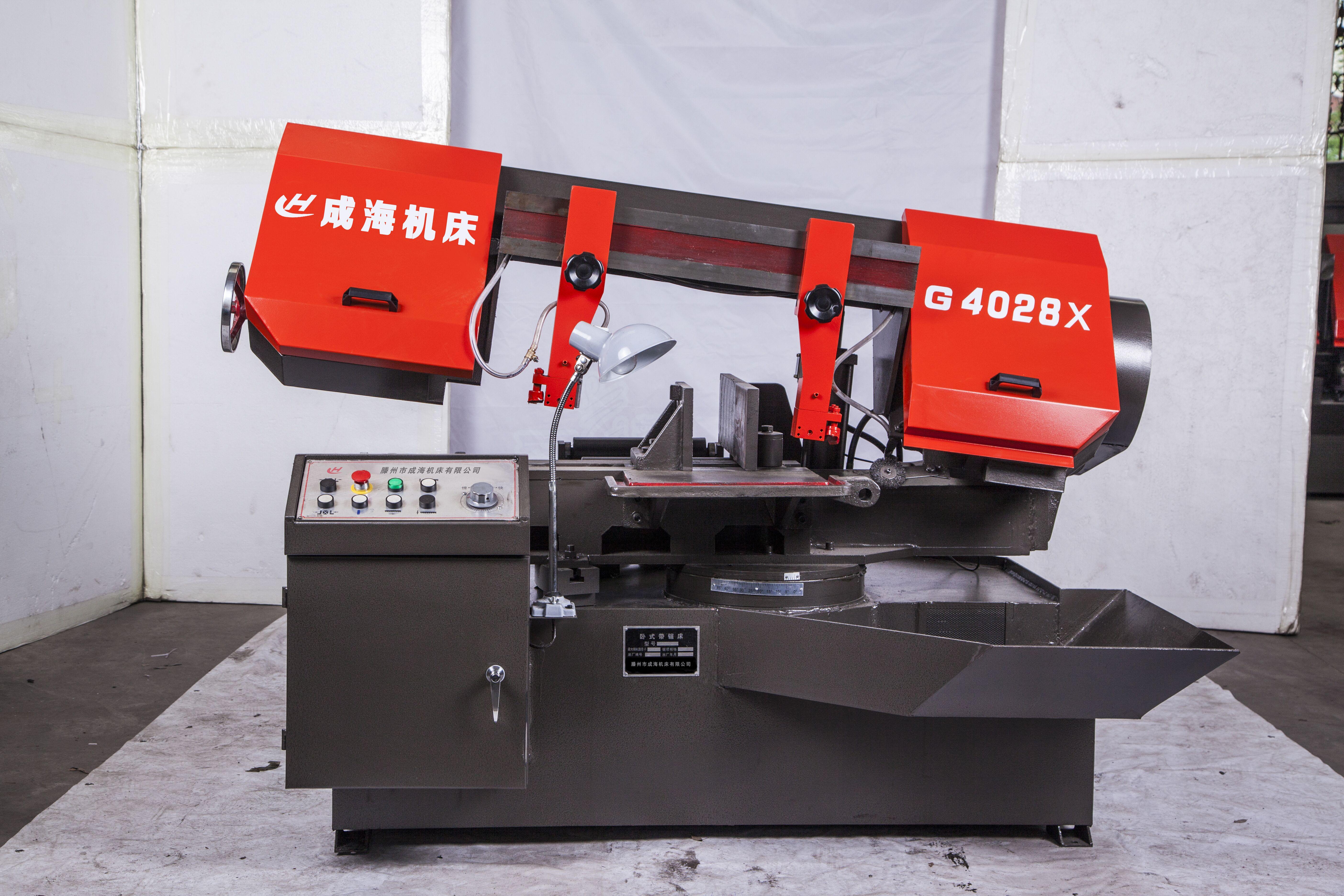 GX4028/45剪刀式旋转角度带锯床产品图片