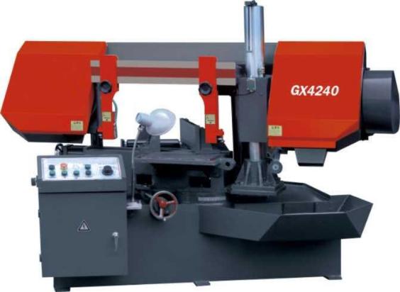 GX4240旋转角度带锯床产品图片