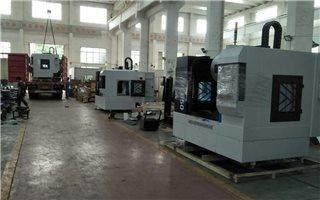 广东惠州客户订购两台MLV850立式加工中心发货