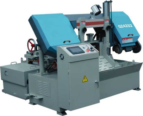 GZ4232全自动数控卧式金属带锯床产品图片